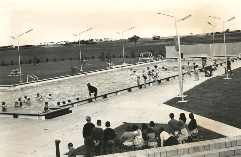 Early days at Lara Swimming Club