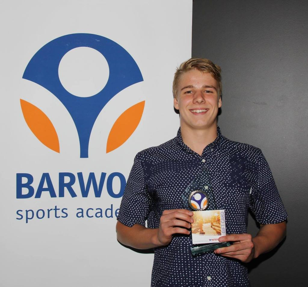 Sid Glenister, Barwon Sports Academy Swimmer of the Year
